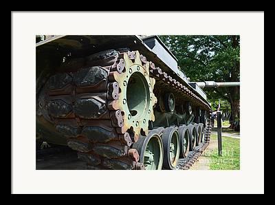 Tank Battalions Digital Art Framed Prints