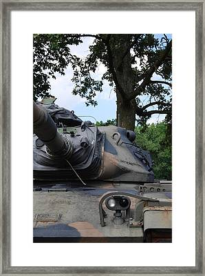 Framed Print featuring the photograph M60a3 Us Tank 03 by Ramona Whiteaker