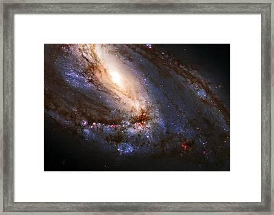 M66 Leo Triplet Framed Print