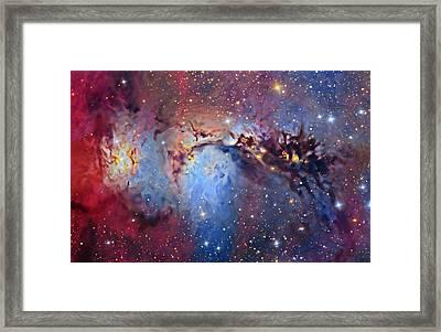 M78 Reflection Nebula Framed Print
