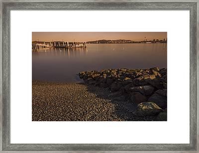 Ma Kai Beach Framed Print by Calazone's Flics