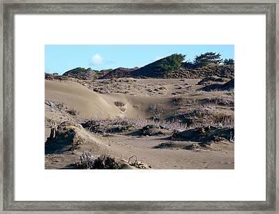 Ma-le'l Dunes 2 Framed Print
