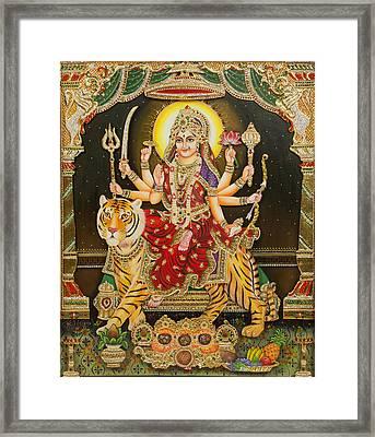 Maa Durga Framed Print
