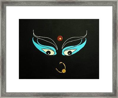 Maa Kali II Framed Print