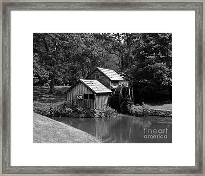 Mabry Mill 3 Framed Print by Mel Steinhauer