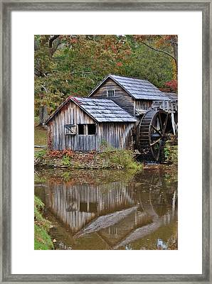 Mabry Mill Framed Print by Kelly Nowak