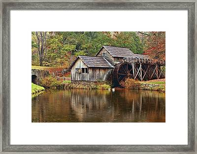 Mabry Mill Framed Print by Marcia Colelli