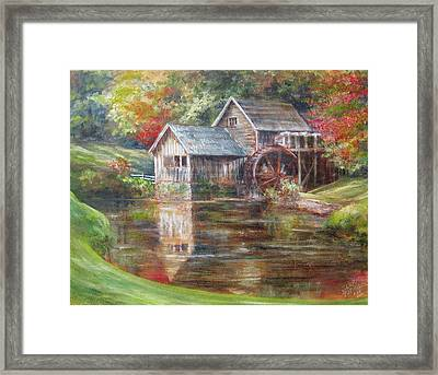 Mabry Mill Sold  Framed Print