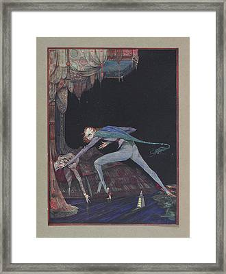 Macabre Framed Print by British Library