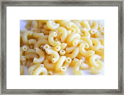 Macaroni 2 Framed Print