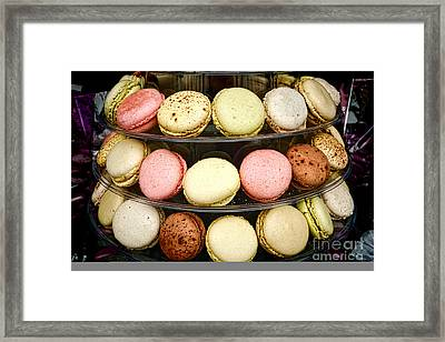 Macaroons Framed Print by Olivier Le Queinec