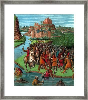 Maccabean Revolt, 2nd Century Bc Framed Print