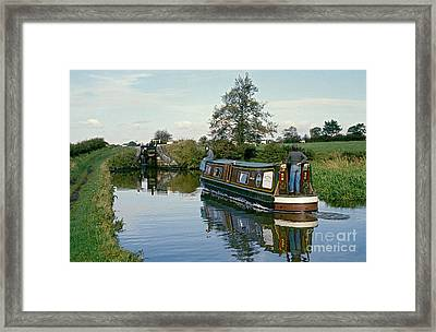 Macclesfield Canal 1975 Framed Print by David Davies