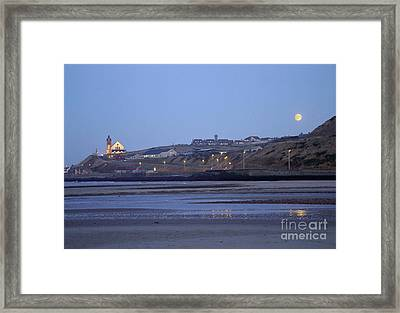 Macduff Moonlight Framed Print by Phil Banks