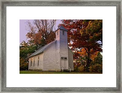 Macedonia Missionary Baptist Church Framed Print by Chris Flees