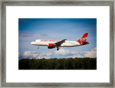 Airplanes Framed Print featuring the photograph Mach Daddy by Aaron Berg
