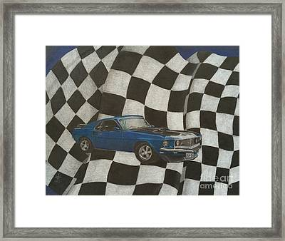 Mach Speed Framed Print