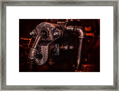 Machine Head Framed Print