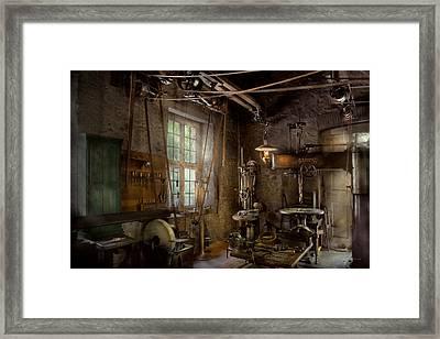 Machinist - Industrial Revolution Framed Print