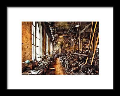 Steampunk Framed Prints