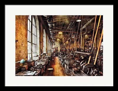 Steampunk Photographs Framed Prints