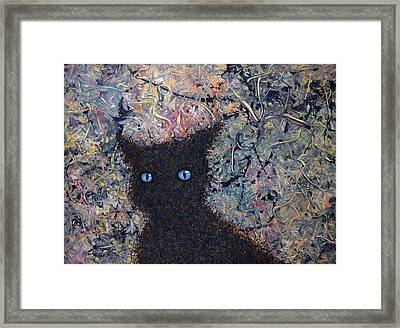 Machka Memory Framed Print by James W Johnson
