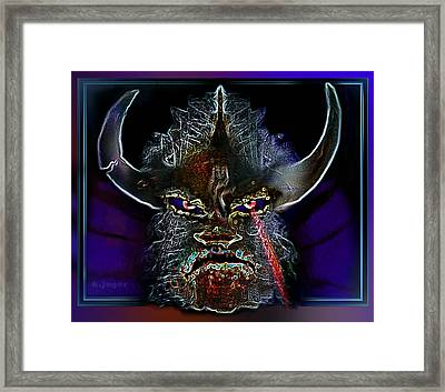 Macho Hunter's  Nightmare Framed Print