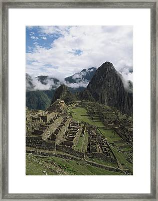 Machu Picchu Framed Print by Chris Caldicott