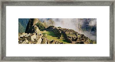 Machu Picchu, Peru Framed Print by Panoramic Images
