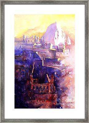 Machu Pichu- Peru Framed Print by Ryan Fox