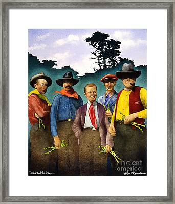 Mack And The Boys... Framed Print by Will Bullas