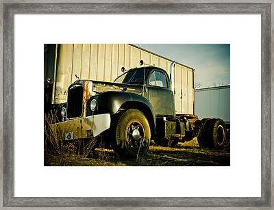 Mack  Framed Print by Off The Beaten Path Photography - Andrew Alexander