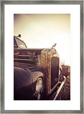 Mack Profile Framed Print by Off The Beaten Path Photography - Andrew Alexander