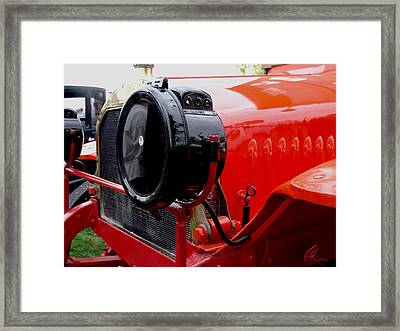 Mack Truck 2 Framed Print by Chris Thomas