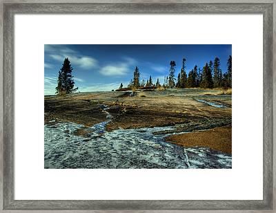Mackenzie Point Outcrop Framed Print by Jakub Sisak