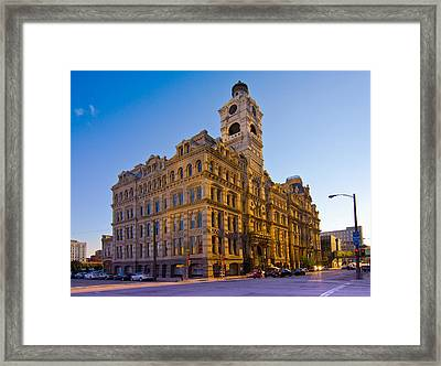 Mackie Building Framed Print by Anthony Sell