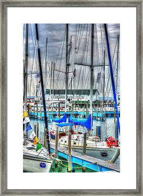 Mackinac Island Harbor Framed Print