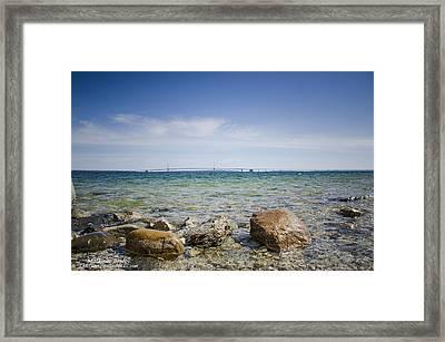 Mackinac Waters Framed Print