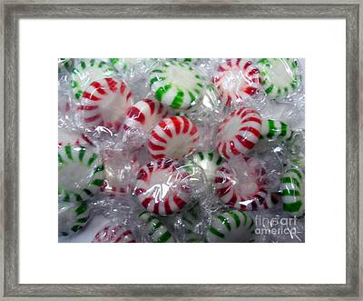 Macro Mints Framed Print