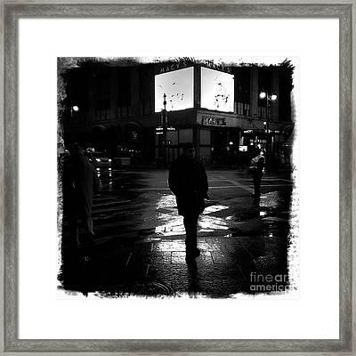 Macy's - 34th Street Framed Print by James Aiken