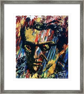 Mad Alec Framed Print by Stephen Brooks