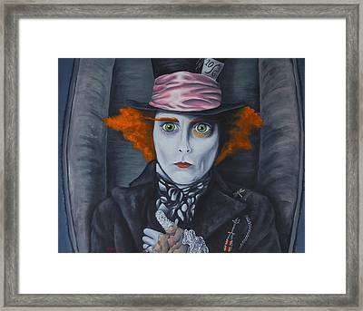 Mad Hatter Framed Print by Travis Radcliffe