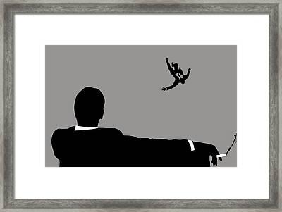 Mad Men Framed Print