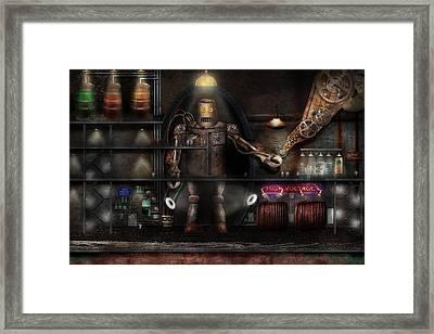 Mad Scientist - The Enforcer Framed Print
