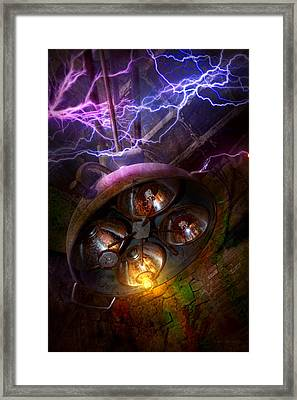 Mad Scientist - Your Operation Was A Success Framed Print