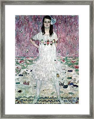 Mada Primavesi Framed Print by Gustive Klimt