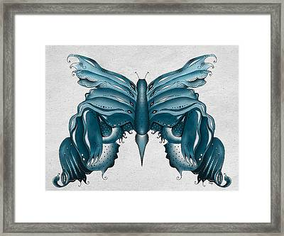 Madam Butterfly Framed Print by Brenda Bryant