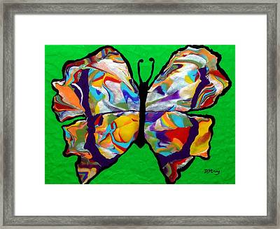 Madam Butterfly Framed Print