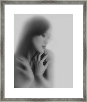 Madam Butterfly  Framed Print by Mayumi Yoshimaru