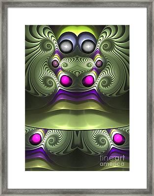 Madam Entertainer - Surrealism Framed Print